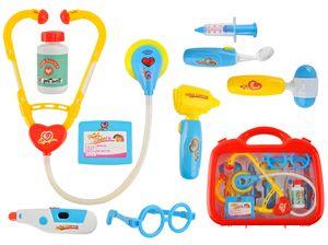 Arztkoffer Doktorkoffer Set für Kinder 10 Elemente Rollenspiel Pädagogisch 6118