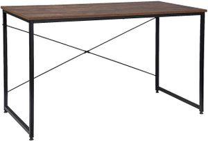 EUGAD 0071ZZ Schreibtische Computertisch PC-Tisch Bürotisch Arbeitstisch mit Bücherregal Holz 120x60x70 cm Holz Vintage