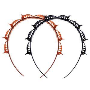 VADOOLL haarreif mit klammern[2 Stück]frisurenhilfe,Twist Clip Stirnband mit Zahnstirnband Braid Tool,Haarschmuck-DIY Haarband für für Männer und Frauen