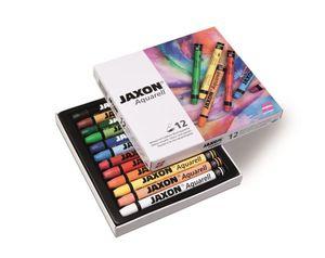 Jaxon Aquarell Pastellkreide 12er-Etui
