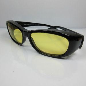 REVEX Nacht-Überbrille Nachtfahrbrille Kontrastbrille polarisiert für SIE & IHN