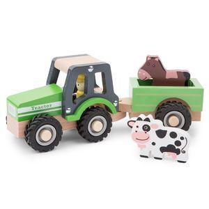 New Classic Toys, Traktor mit Anhänger und Tieren