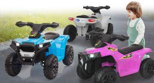 Ride-on Mini Quad Runty weiß 6V