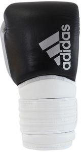 adidas Boxhandschuhe, Hybrid 300, schwarz-weiß-silber Size - 14 Oz