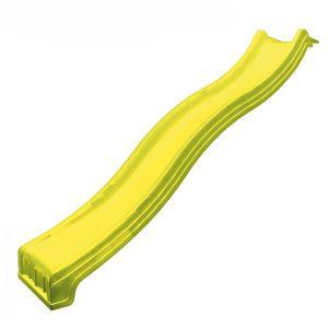 Rutsche mit Wasseranschluss - Länge 3 m - Farbe: Gelb,