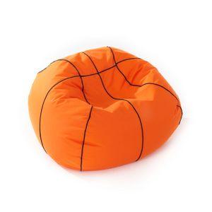 Lumaland Basketball Sitzsack hochwertiges Sitzkissen aus der Comfortline groß