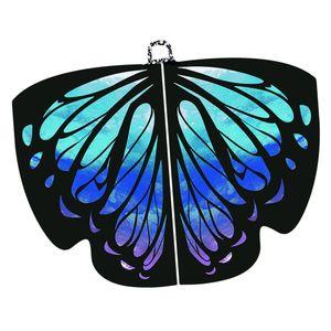 Fee Schmetterlingsflügel / Tanzflügel Flügel Kostüm Prinzessin Schal Cosplay 3 Schmetterling wie beschrieben Butterfly Wings Schal