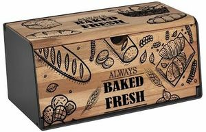 Sinbo Brotkasten | Brotkiste | Brotbox | Brot Aufbewahrungsbox | Tupperwaren Box | Brotaufbewahrung | Edles Holzdesign | Landhausdesign