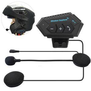 Melario Motorrad Helm Bluetooth Headset Helm Sprechanlage Gegensprechanlage