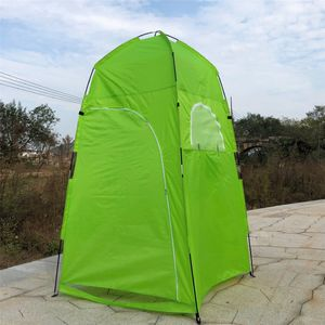 Meco Pop up Duschzelt Toilettenzelt Umkleidezelt Outdoor Camping Wasserfest Beistellzelt Grün