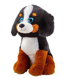Riesen Plüsch Hund Kuschelbär XXL 70 cm groß Plüschhund Kuscheltier samtig weich - zum liebhaben