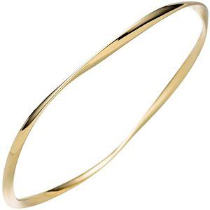 JOBO Armreif Armband 925 Sterling Silber gold vergoldet