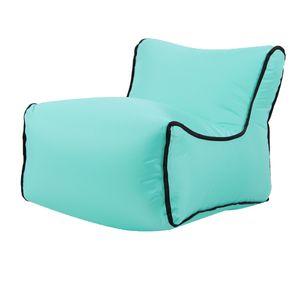 Aufblasbare Kindersitz Sofa Kindermöbel Sessel Babystuhl Sitzsack Für Den 8 35x50x35cm Grün