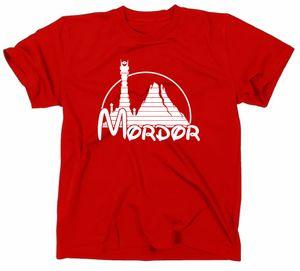 Styletex23 T-Shirt Mordor Fun, rot, XXL