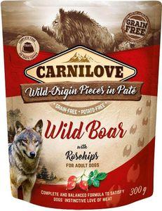 Carnilove Dog Wildschwein & Hagebutten 300 g