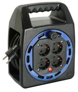 as - Schwabe 16410 Kompakttrommel KBS 204T blau, 10m H05VV-F 3G1,5