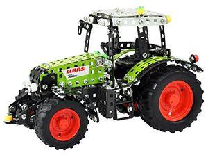 RCEE 10064 - Metallbaukasten - funkferngesteuerter Traktor Claas Arion 430, Maßstab 1:24, RC mit 4 Kanälen, grün