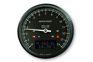 motogadget motoscope classic Drehzahlmesser DarkEdition -14.000 U/min