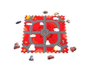 "knorr toys Cars - ""Modular Race""/Puzzlematte/17tlg./9 Einzelmatten; 21015"