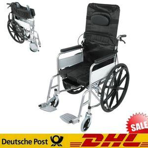 Rollstuhl Leichtgewicht Transportrollstuhl Stabiler Faltrollstuhl Reise Senior