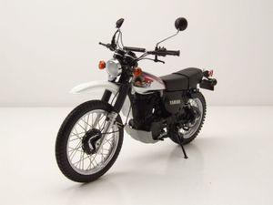 Yamaha XT 500 1986 dunkelblau weiß Modellmotorrad 1:12 Minichamps