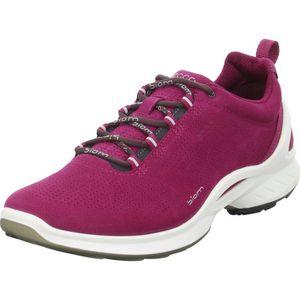 ECCO Damen Sneaker Sneaker Low Veloursleder pink 38