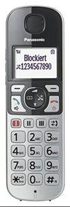 Panasonic KX-TGE 510GS silber, Farbe:Silber