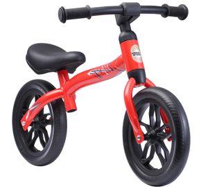 BIKESTAR Leichtes (3KG!) Mitwachsendes Kinder Laufrad ab 2 - 3 Jahre   10 Zoll Lauflernrad   Rot