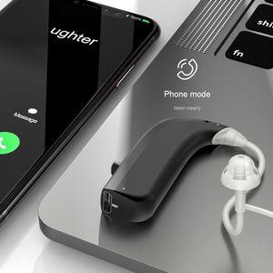 BT 5.0 Digitales Ohrh?rger?t Mini USB Wiederaufladbarer Soundverst?rker Enhancer