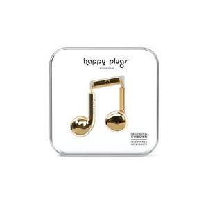 Happy Plugs Hoofdtelefoon Earbud Plus Goud.