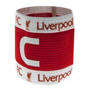 Liverpool FC Wappen Design Kapitän Armbinde SG10881 (Einheitsgröße) (Rot)