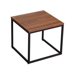 tongqiu Moderner Stil Möbel Beistelltisch Beistelltisch Nachttisch mit Metallrahmen und Holztischplatte Bewerben Sie sich für Schlafzimmer Wohnzimmer