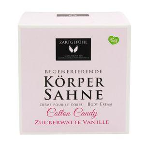 ZARTGEFÜHL Körpersahne /Baumwolle Candy/ Zuckerwatte-Vanille 200ml