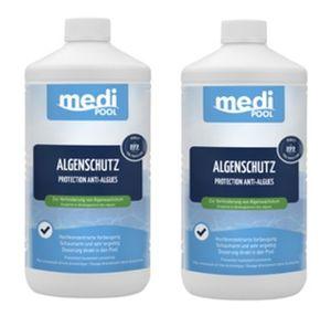 2 x Algenverhütung, Algenschutz 2 x 1L mediPOOL