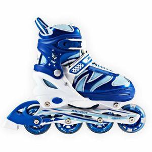 Inliner Joerex verstellbar Gr. 30-33 ABEC7 blau Hockey Skates