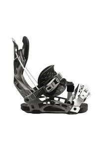 Flow NX2 Hybrid Snowboard Bindung 2020/21 Farbe: Graphite, Schuh Größe: L