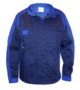 format Herren Arbeitsjacke S-3XL Schutzjacke Arbeitsbekleidung Jacke Berufsjacke, Farbe:Blau, Größe:XL