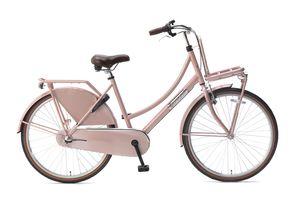 Popal Kinderfahrräder Mädchen Daily Dutch Basic+ 26 Zoll 46 cm Mädchen 3G Rücktrittbremse Lachsfarben