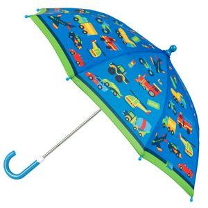 Stephen Joseph - Regenschirm für Jungen - Fahrzeuge - Blau/Grün, Onesize