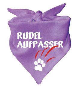 Hunde Dreiecks Halstuch (Fb: lila) Rudelaufpasser