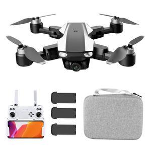 S105 RC Drohne mit Kamera 4k Drohne Doppelkamera mit ESC 5G WIFI GPS Bš¹rstenloser Motor One Key Return Geste Foto Video Optische Flusspositionierung Spur Flug Intelligent Follow Quadcopter