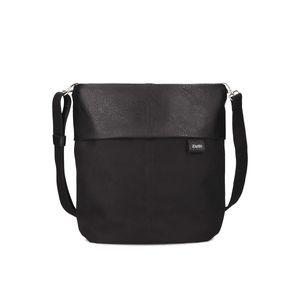 ZWEI Handtasche Umhängetasche Shopper Olli OT12 in vielen Farben, Farbe:schwarz