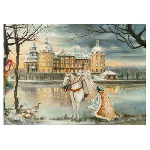 2912 - Weihnachtspostkarte Aschenbrödel