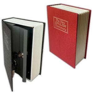 2er Set Büchersafe Buchattrappe   Geldkassette Buch Attrappe Inkl. Schlüssel   Buchsafe Bücher Safe   Buchtresor Wörterbuch Geheimsafe