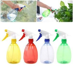 2 Stück 500ml leere Sprühflasche Handdruck-Gießkannenspritze Plastikzerstäuber-Blumenanlage