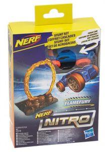 Hasbro Nerf Nitro Soft Racer Stunt Set (Motivauswahl) Flamefury (E1269)