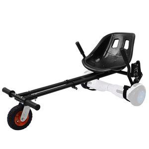 YOLEO Hoverboard Sitz Pro, Hoverkart mit Dämpfungsfedern Sitzscooter verdickter Sitz Tragfähigkeit bis 120 kg für 6,5-10 Zoll Hoverboard Kinder Erwachsene