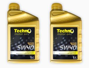 Techno Motoröl 1 Liter 5W40 Synthetic Performeance Level Gold longlife Oil