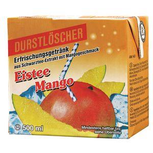 12x 500ml Durstlöscher Eistee Mango Softdrink Tetra Pak