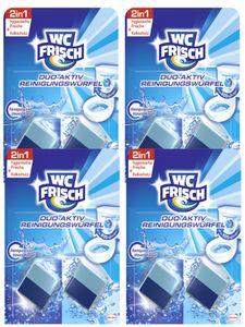 WC Frisch Duo-Aktiv 4er Pack Reinigungswürfel 4x2 Stück WC Reiniger Reinigung